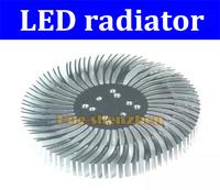 2pcs Free shipping 2pcs 90mm*12.7mm Round Spiral Aluminum Heatsink cooler radiator for 1W 2W 3W 5W 10W Watt LED led accessories