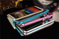 Buckle Bumper Frame Mobile Phone Bumper Aluminum Metal Bumper For HTC Desire 820