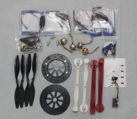 F05298-G JMT RC Drone Quadcopter ARF HJ600 Foldable Frame Kit + QQ Super Control Board + HOBBYWING ESC A2212 + Carbon Fiber Pros