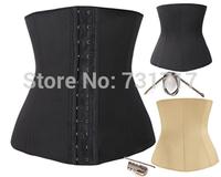 women tights skins slimming body waist shaper tummy training corset underbust FD6