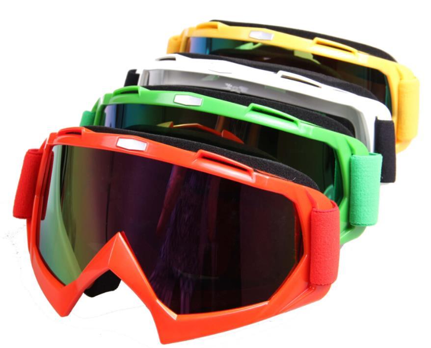 hot sale motorcycle glasses T815-7 Frame Anti-UV Windproof Adult motocross dirt ATV cycling eyewear ski lens snowboard goggle(China (Mainland))