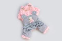 Good Quality Bear Glitter Cute Winter Dog Pet Clothing Jacket Fourlegs Coat