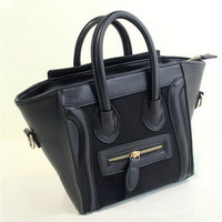 HOT sale Fashion classic candy colors PU leather women handbag/leather bag/ shoulder bag WLHB907