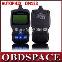 AUTOPHIX Hand-held OBD2 Code Reader  ---OM123 Professional OBD2 EOBD Diagnostic Scanner Free shipping
