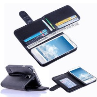 Flip Magnetic Stand Case Wallet Skin For Samsung Galaxy S4 IV i9500 S5 G900F Dropshipping