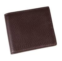New Fashion Leisure short wallet  100% Genuine Leather Coffee wallet Inside zipper  zero wallet