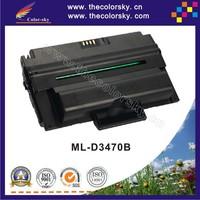 (CS-SD3470B) compatible toner printer cartridge for SAMSUNG ML 2851 2855ND 3470D 3471ND D3470B 3471ND D3470B BK 10k free Fedex