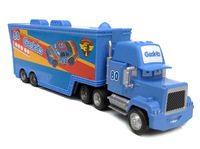 Best Gift!  Mack NO.80 Gask-its Race Team''s Hauler Truck 1:55  Diecast Pixar Cars Toy  Free Shipping
