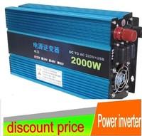 2000W Modified SINE WAVE INVERTER 12v  to 220V  car  inverter