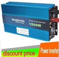 1500W Modified SINE WAVE INVERTER 24v  to 120V  car  inverter
