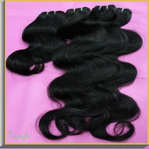 Wholesale hair 15pcs lot unprocessed brazilian virgins cabelo humano natural black body wave wavy hair extensions,900 gram(China (Mainland))
