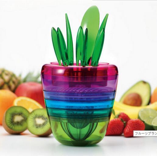AliExpress.com Product - 1set/lot Multi-function Vegetable Fruit Peeler Cutter Chopper Slicer Fruit Vegetable Kitchen Tools Salad Maker FK871744