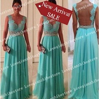 New Arrival European Fashion Trend Solid Color Lace Design Sleeveless Wedding Dress Hot Sale Sexy Deep V Neck Backless Dress