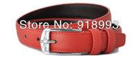 Women leather belt business casual women's ms candy color joker decorative belt mixed batch of factory