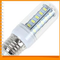 E27 12W 36 x 5730 SMD LED Corn Bulb Light White Light LED Corn Lamp Bulb for Home / Office / Exhibition Lighting