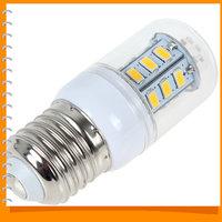 High Bright E27 7W 24 x 5730 SMD LED Corn Bulb Light Warm White LED Corn Lamp Bulb Wall Downlight