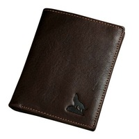 Hot sale fashion brand Wallet for men Head layer cowhide Card Holde vintage purse