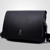 2015 New Men Genuine Leather Bag Shoulder Bags Men Messenger Bag Men's Travel Bags