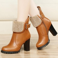 Guciheaven high-heeled women's boots, female leisure Martin boots, 2014 new motorcycle boots, Fashion sexy women's shoes