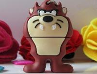 New Cartoon Animals Gifts Brown Lion/Tiger USB 2.0 Flash Drive 2GB 4GB 8GB 16GB 32GB Pen Drive Memory Stick U Disk Free Shipping