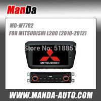 Manda car dvd gps for MITSUBISHI L200 (2010-2012) low end car factory navigation in-dash audio