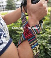 100pcs Universal Shoulder Strap Color Strip Camera Neck Strap Belt For Nik/n Can/n DSLR etc. 205#