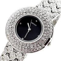 2015 New WEIQIN Luxury Brand Women Dress Decorative Rhinestone Business Bracelet Watches Sweet Woman Waterproof Quartz Watch