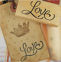 DIY Wood Love you Stamps 3 Disigns Vintage Wooden Stamp for Scrapbooking Decoration Creative Gift Wholesale