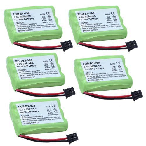 5X 900mAh Cordless Phone Battery for Uniden BT-909 BT909 BT1001 BT1004 ERP153(China (Mainland))
