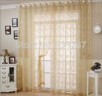 Free shipping European sitting room balcony bedroom curtain window screen