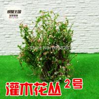 Sand table model material shrubs 02 high:4cm 20pcs