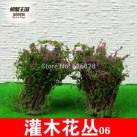 Sand table model material shrubs 06 model flower high:4cm 20pcs