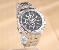 2015 new fashion Business Quartz watch Men Casual Watches Full Steel Men Watch Waterproof