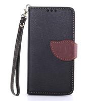 New Arrival Flip Wallet Case for LG Optimus L70 Luxury Card Holder Leather Cover Case Leaf Handbag Capinhas Capa Para for LG L70