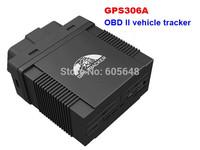 Realtime Auto Car Vehicle GSM GPS OBD Tracker Listen-in TK306A-w OBD 2 II Data SMS No Box