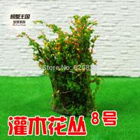 Sand table model material shrubs 08 high:4cm 20pcs