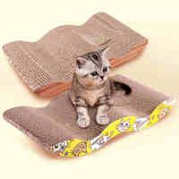 14 69 pet cat toy cat scratch board corrugated paper cat Mentha