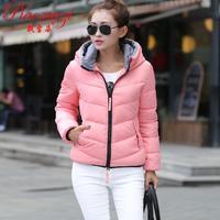 Wadded jacket outerwear female winter women's 2015 design short cotton-padded jacket slim small cotton-padded jacket S-4xl 5XL