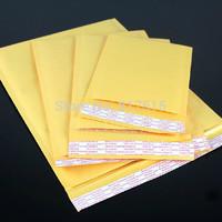 16*16+4cm Bubble Mailer bag Kraft Bubble Express Shipping Packaging Padded Mailing Envelope Bag