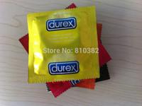 Hot Sale!! New 48 pcs / lot Durex Condoms Sex Products All English durex condoms Without Chinese Font english durex 8 colors