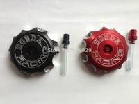 Dirt Bike off road mx brand NEW CNC BILLET aluminum GAS FUEL TANK PETROL CAPS  FOR HONDA CR CRF 250 250R 450 450R 450X 2004-2009