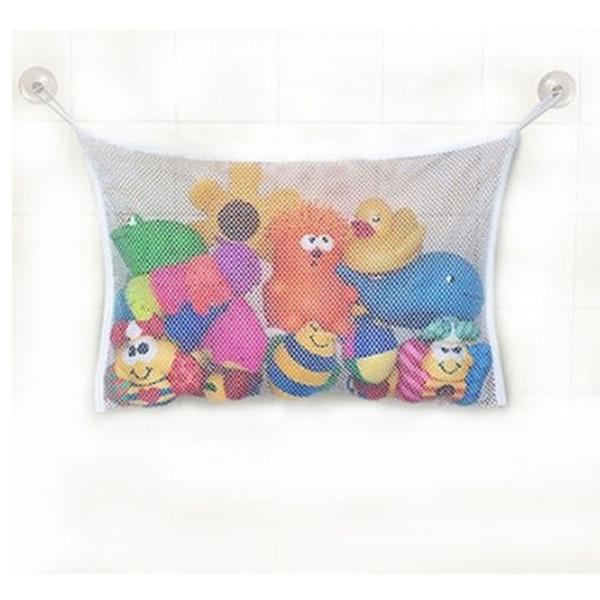 Cute Baby Bath Time Toy Tidy Storage Suction Cup Bag Mesh Bathroom Organiser Net(China (Mainland))