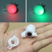 Free Shipping Sea Coarse Fishing LED Rod Tip Night Light Strike Alert Glow Stick Bite Alarm