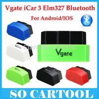 5 Colors optional ! 2015 New Arrival Vgate iCar3 bluetooth vgate icar bluetooth scanner icar 3 elm327 For Android/IOS