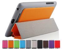 For Google Nexus 7 Slim Magnetic PU Leather Case Smart Cover + Film + Stylus