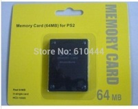 Free Fast shipping With Retail Box 64MB Memory Card For PS2 Game Memory Card For PlayStation 2 New High Quality Cartao
