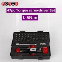 FORCE preset type torque screwdriver 1-5 Nm  torque wrench torque screwdriver slippage type
