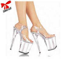 Miss Lai's Store  Crystal High Platform women sandal Sexy high heel Women Dancing Party Club Pumps Free shipping