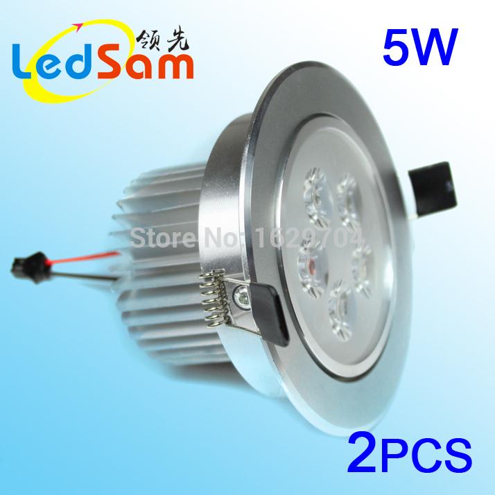 2pcs 5w LED ceiling light study room celling light white/warm white 3W LED freeshipping(China (Mainland))