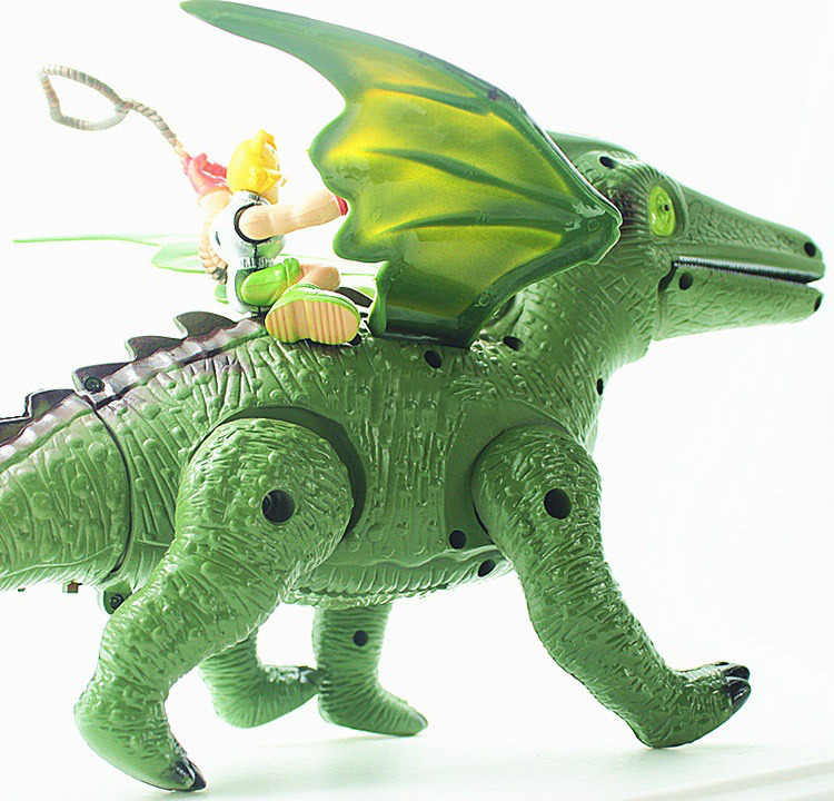 AliExpress.com Product - 2015 Electric dinosaur toys Educational toys for children With music Light Walk Sounds Model Toys Material Safety Packaged
